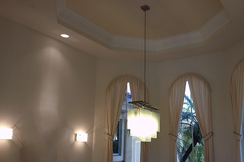 residential-hanging light